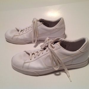 Nike Sweet Classic Men's White Leather Size 14 EUC